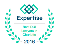 Best DUI Lawyers in Charlotte Badge