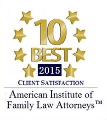 10 Best Badge, American Institute of Family Law Attorneys