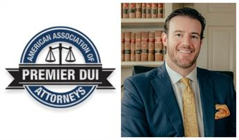 Premier DUI Attorney Badge