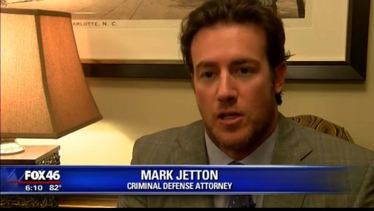 Attorney Mark Jetton talks with Fox 46