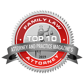 2019 Attorney and Practice Magazine Family Law Badge