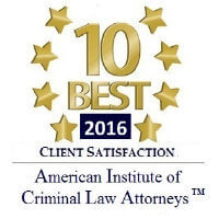 10 Best Client Satisfaction Badge - Attorney Mark Jetton