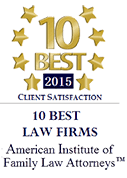10 Best Law Firms Client Satisfaction Badge